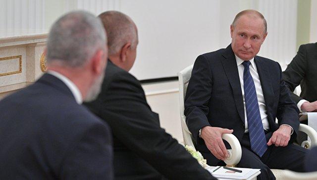 Путин и Борисов разговарали о енергетској сарадњи