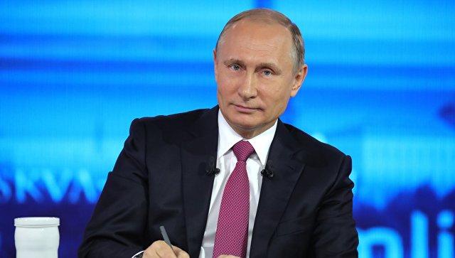 Путин очекује од новог премијера Италије да допринесе развијању конструктивне сарадње