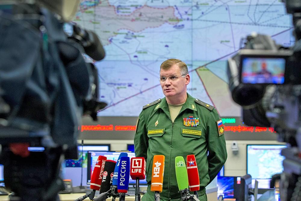 Конашенков: Експанзија терориста у Сирији постала могућа због злочиначког неделовања САД