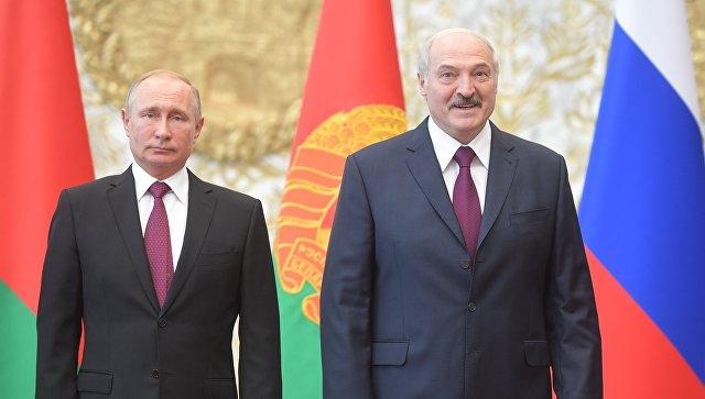 Путин у Минску на седници Врховног државног савета Савеза Русије и Белорусије