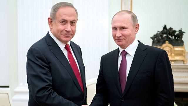 Путин: Односи Русије и Израела се развијају позитивно
