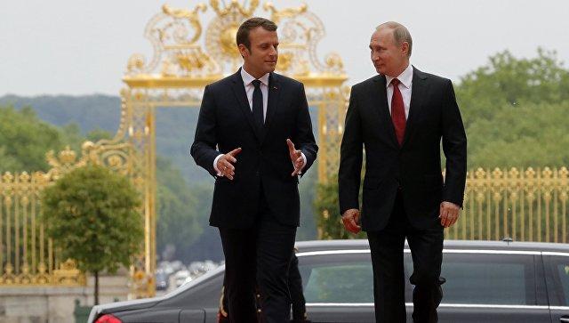 Путин очекује да ће односи Русије и Француске кренути путањом позитивног развоја