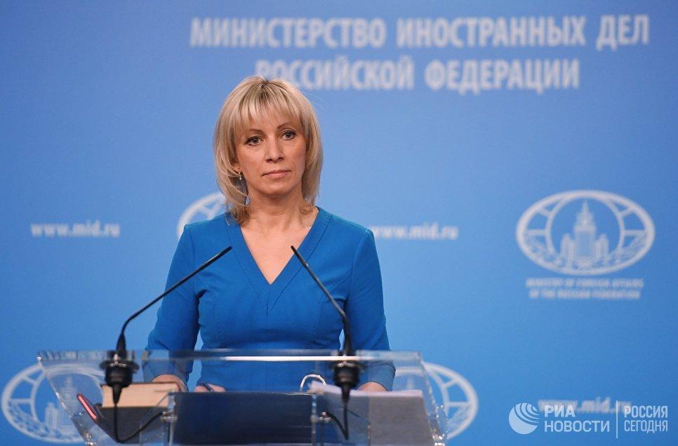 Захарова: Изјава заева још једна порција неоснованих оптужби против Москве