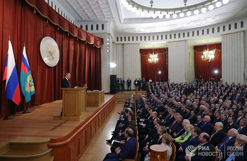 Путин: Русија ће адекватно реаговати на агресивне кораке НАТО-а