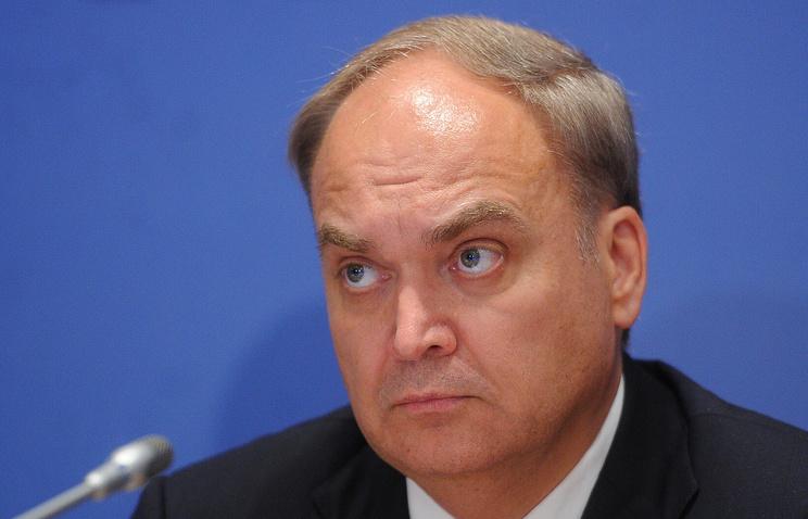 Антонов: Вашингтон заузео позицију жестоког одбацивања резултата руско-америчког самита