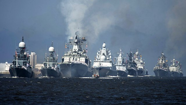 Парада поводом Дана Војно-поморске флоте Руске Федерације