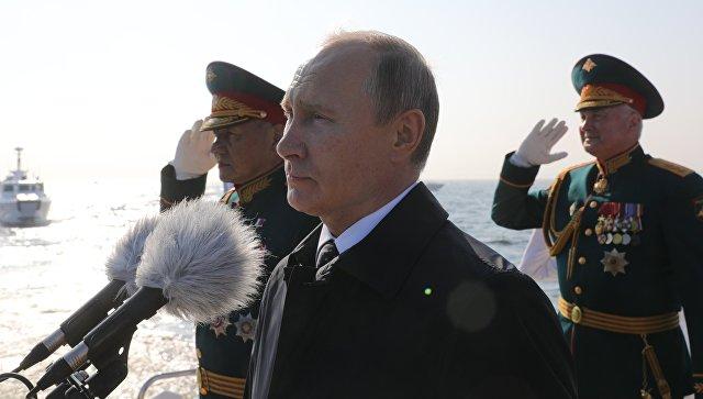 Путин:  Руска флота ће ове године добити 26 нових пловила