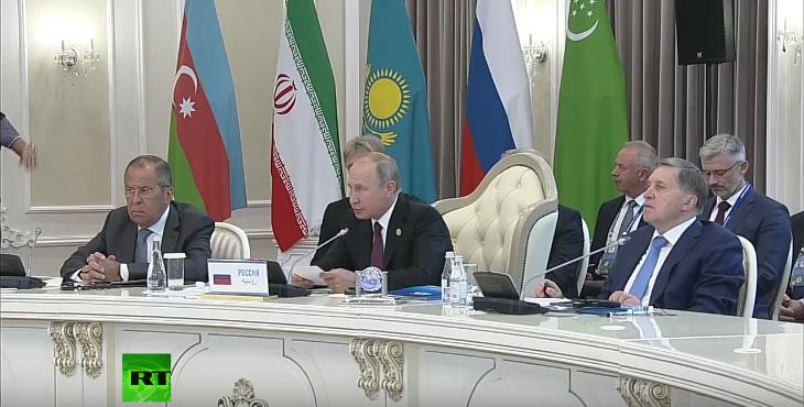 Путин: У Каспијско море неће моћи да улазе ванрегионалне војне снаге