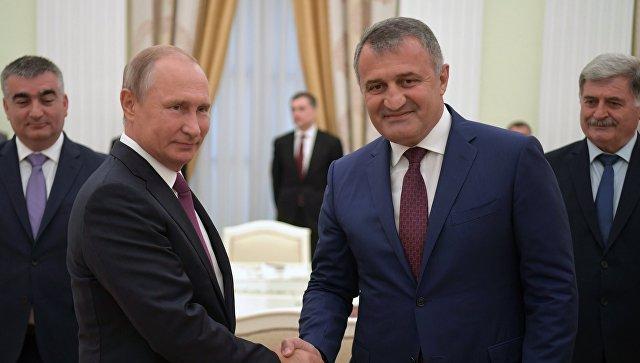 Путин: Русија ће наставити да пружа помоћ Јужној Осетији
