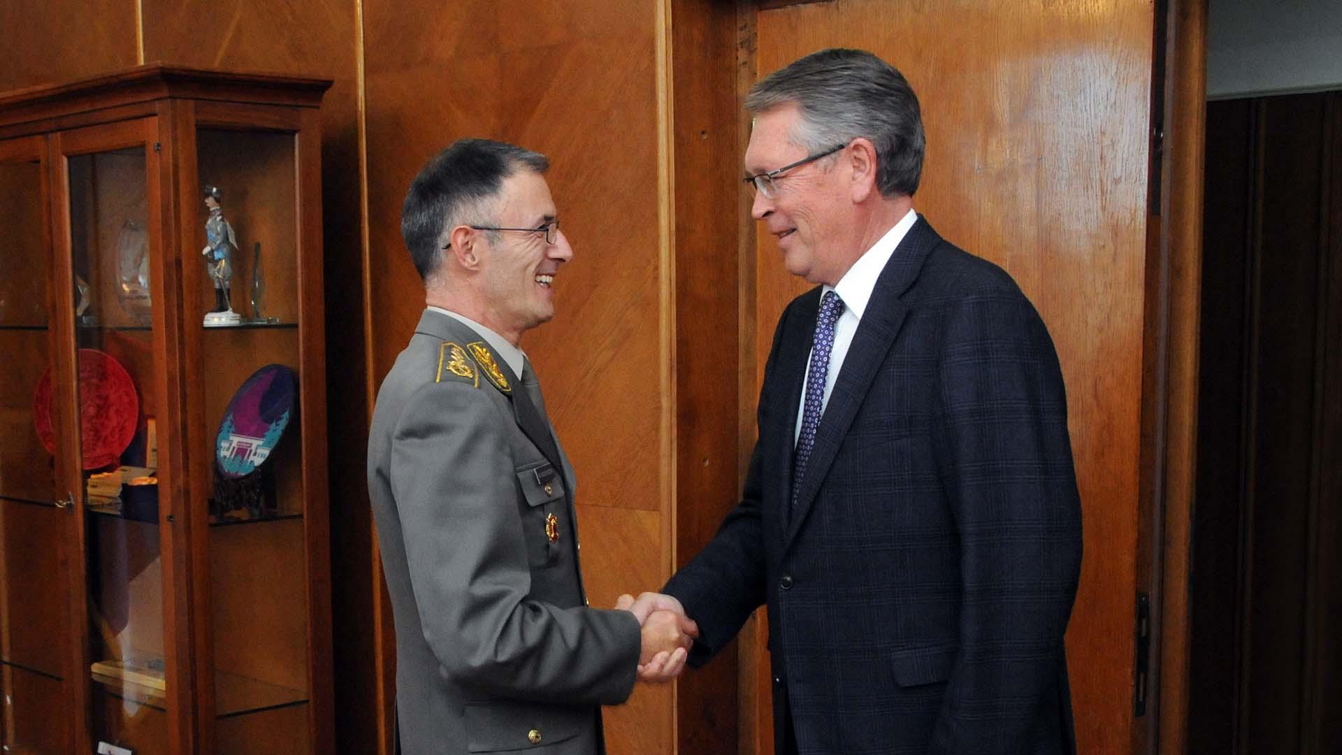 Чепурин генералу Мојсиловићу предао писмо генералa Герасимовa