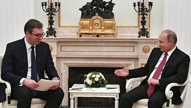 Песков: Тема састанка Путина и Вучића тензије у региону и билатерални односи