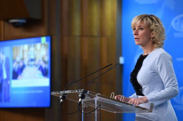 Захарова: Имам осећај због ког се питам да ли господин Порошенко намерава да стане и на чело цркве на територији савремене Украјине