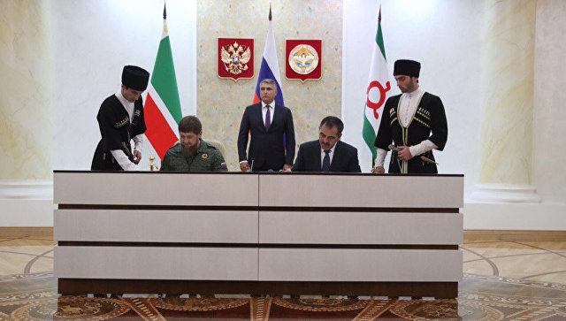 Granični sporazum između Čečenije i Ingušetije stupio na snagu