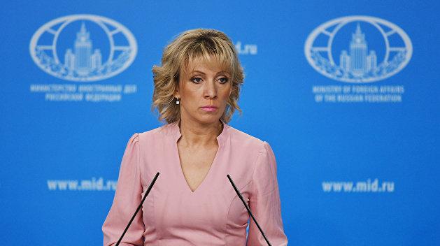 Захарова: Забрињава ситуација у Сирији где САД покушавају да формирају квазивладине структуре