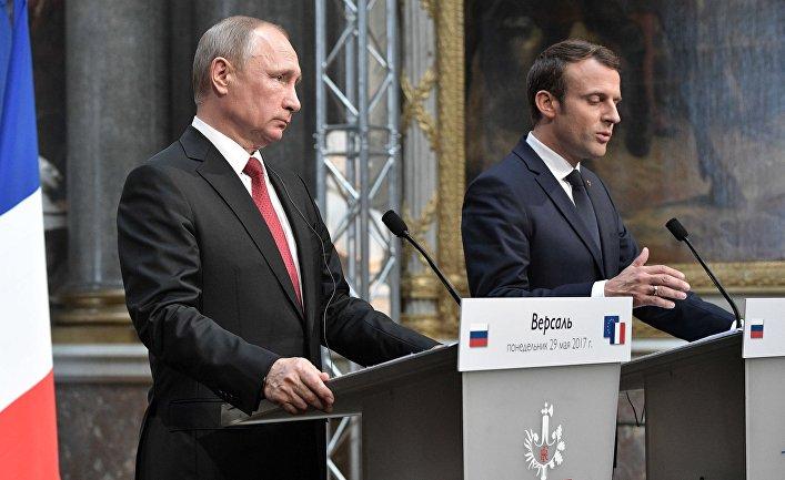 Путин и Макрон разговарали о ситуацији у Сирији