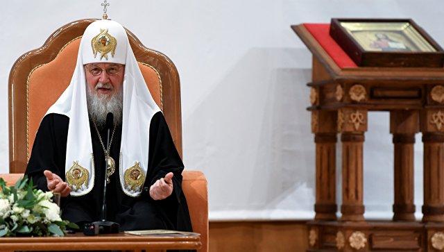 Патријарх Кирил: Уништење јединства наше цркве је наруџба глобалних размера