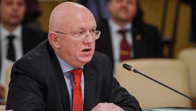 Nebenzja: Cilj provokacija u Siriji je očigledan - staviti žig zločinca na Damask