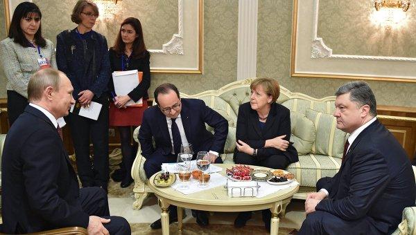 """Moskva: Ne postoje uslovi za održavanje novog sastanka """"Normandijske četvorke"""""""