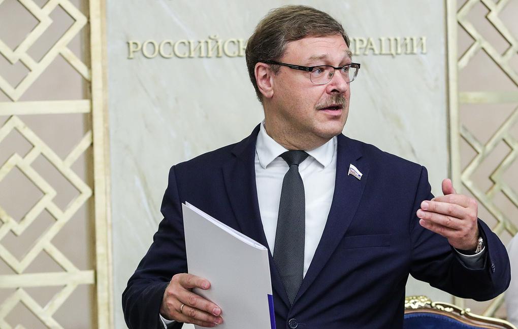 """Косачев: Термин """"сепаратисти"""" се са лакоћом користи када је реч о Украјини, али не и када је реч о Косову"""
