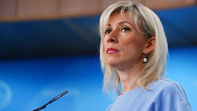 Захарова реаговала на речи Меркелове о санкцијама против Русије