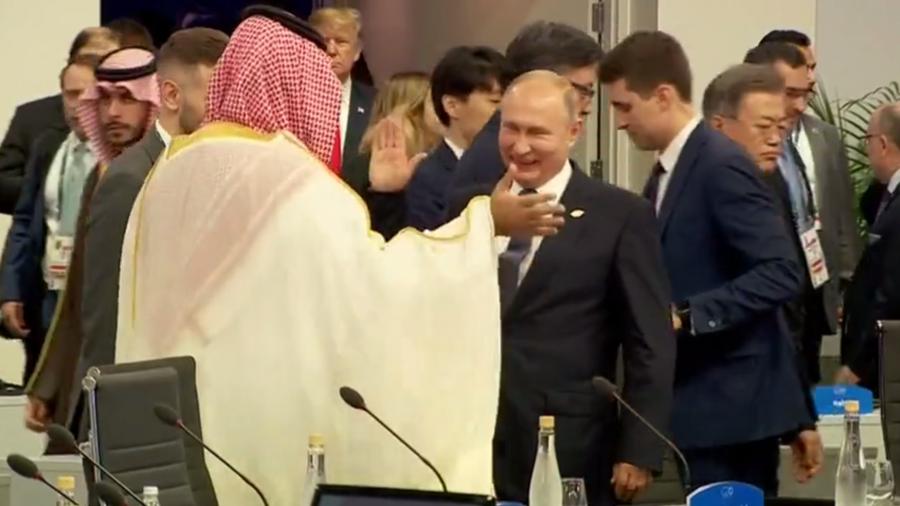"""РТ: Путин на """"петицу"""" са Салманом, а да ли се је руковао са Трампом?"""