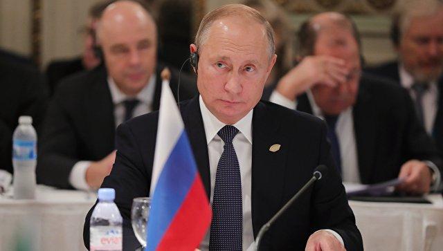 Путин: Питање размене украјинских морнара за сада није на дневном реду