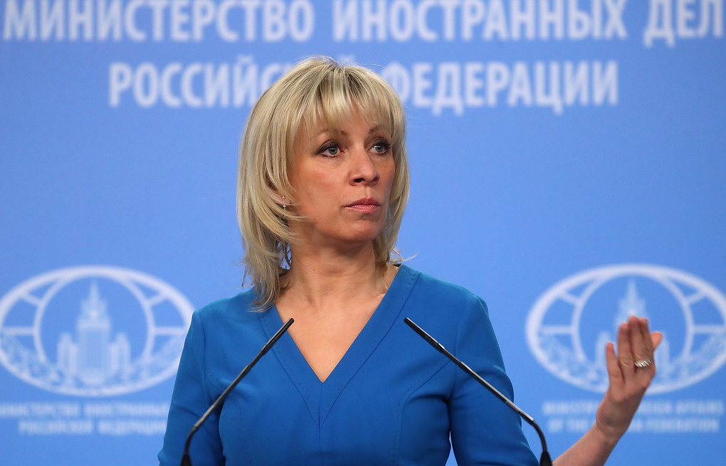 Zaharova: Politika zvanične ukrajinske vlasti zasniva se na provokacijama