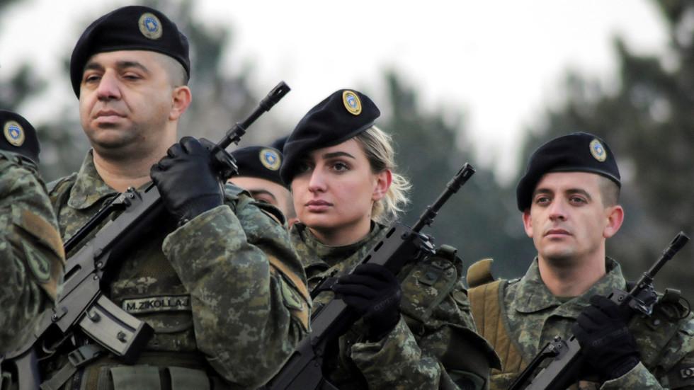 РТ: Килав одговор ЕУ на стварање косовске војске ризикује за погоршавање кризе - Москва