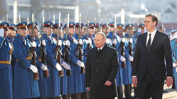 Путин: А где су србски полицајци и граничари на Косову