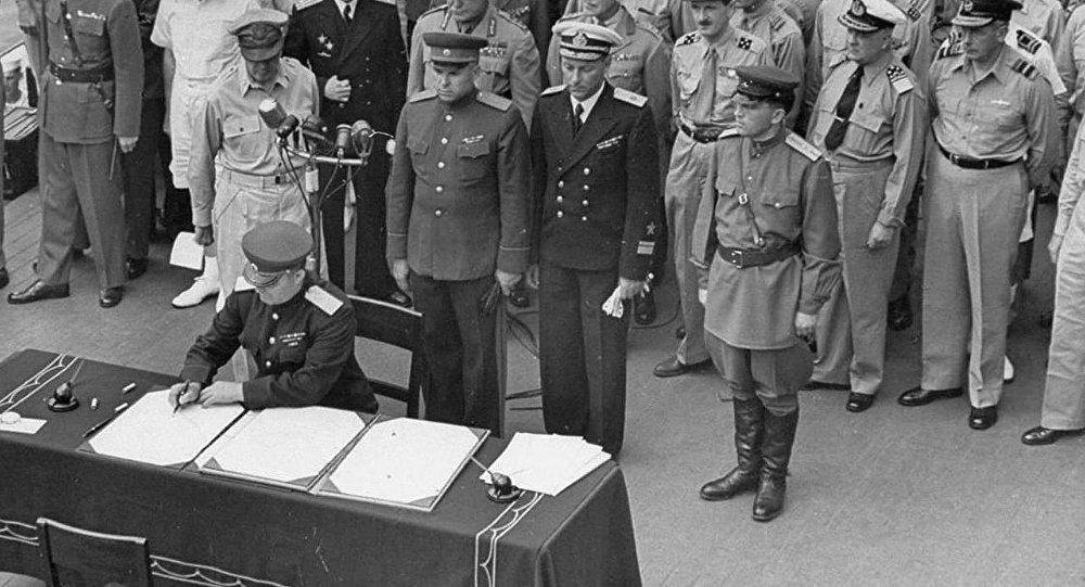 У Државној думи предложили да се дан капитулације Јапана прогласи празником