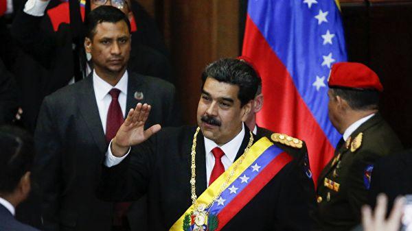 """Песков назвао """"патком"""" саопштења да Русија штити Мадура"""