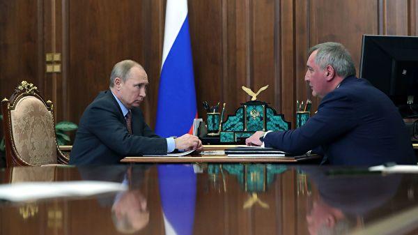 Рогозин известио Путина о мерама побољшања стања у космичкој индустрији