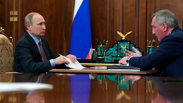 """Рогозин: Рад на пројекту ракете """"Сармат"""" иде по плану"""