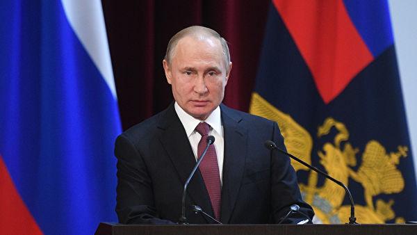Путин: У прошлој години откривено 465 агената страних обавештајних служби