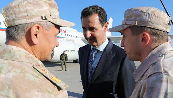 Шојгу предао Асаду поруку од председника Путина