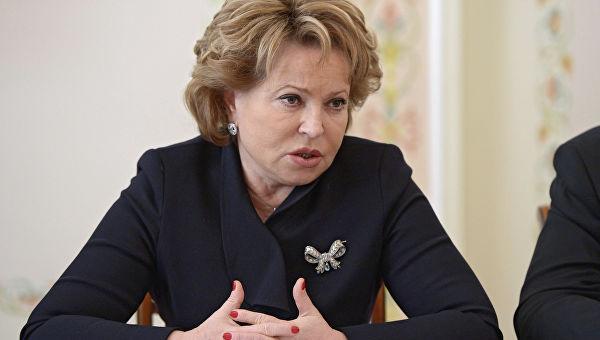 Матвијенкова: Русија веома цени ефикасно председавање Финске у Савету Европе и напоре њених представника да реше кризу