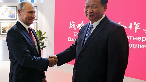 Ђинпинг ће посетити Русију у јуну као главни гост Петербуршког међународног економског форума