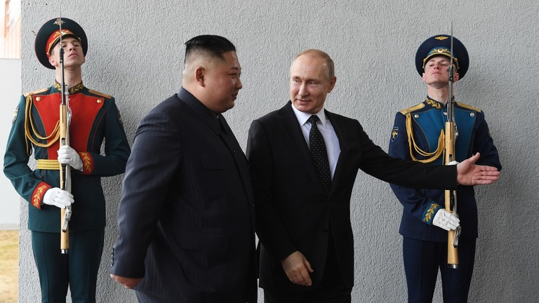 РТ: Путин поздравља напоре Кима за нормализацију односа са САД-ом и разговоре о денуклеаризацији
