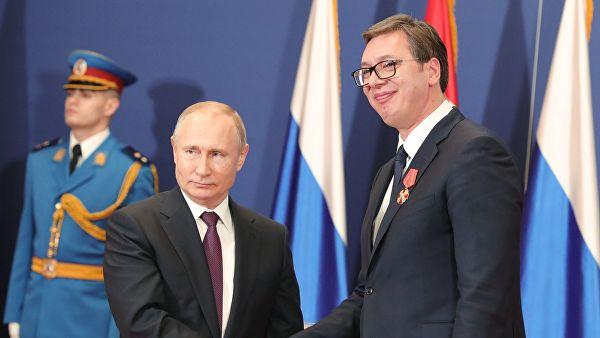 Путин и Вучић о билатералним односима и регионалним питањима
