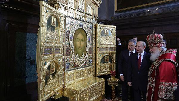 Путин: Руска православна црква активно учествује у животу државе и друштва