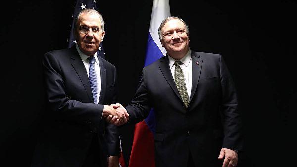 Лавров и Помпео 14. маја у Сочију