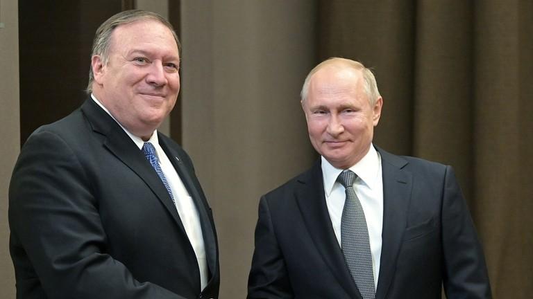 РТ: Путин саопштио да жели обнављање руско-америчких односа у потпуности