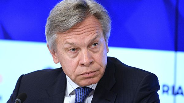 """Пушков назвао речи Зеленског о враћању Крима """"реторичком бесмислицом"""""""