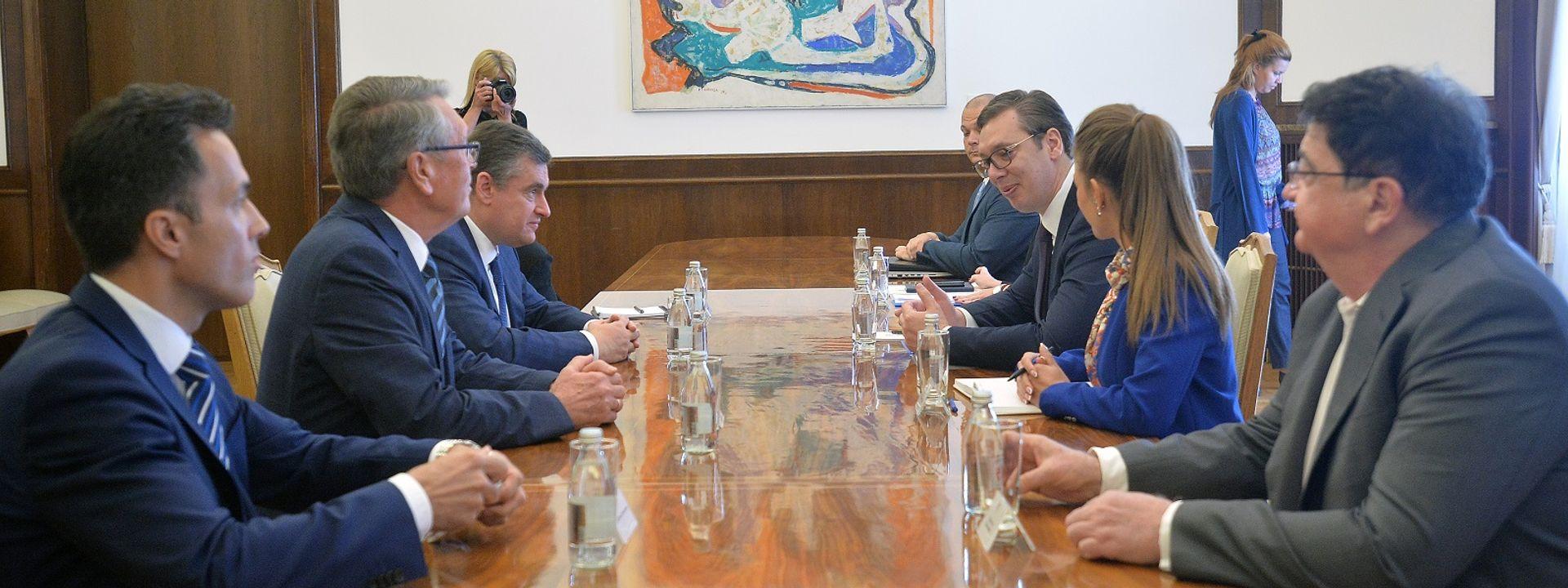 Слуцки: Русија ће увек подржавати ставове Србије, посебно кад је у питању Косово и Метохија