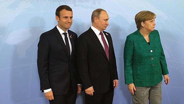 Путин, Меркелова и Макрон разговарали о Украјини, Сирији и Ирану