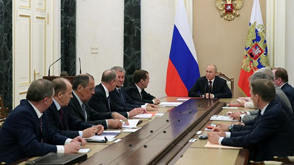 Путин разговарао са члановима Савета безбедности Русије o ситуацији у Сирији, Русији и Ирану