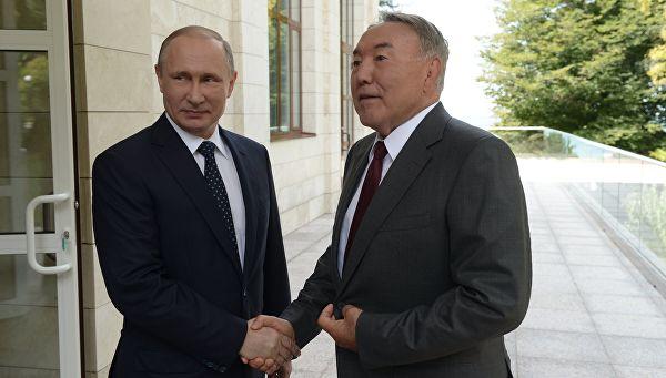 Путин у посети Казахстану