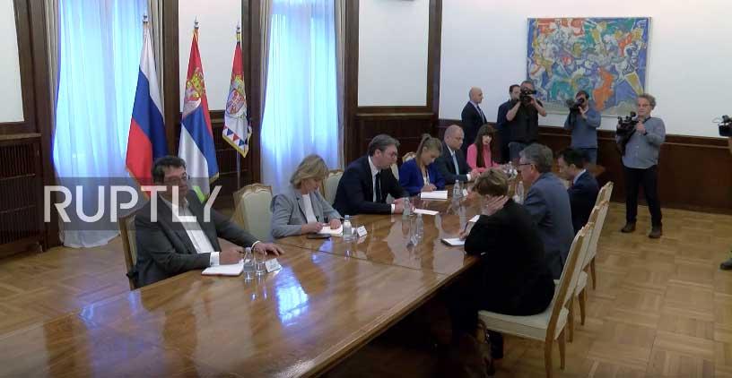 Русија ће наставити са активном подршком Србији у заштити територијалног интегритета и суверенитета