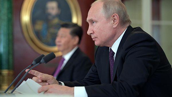 """Путин: Главни противници """"Северног тока 2"""" су они који су навикли да им је све дозвољено"""