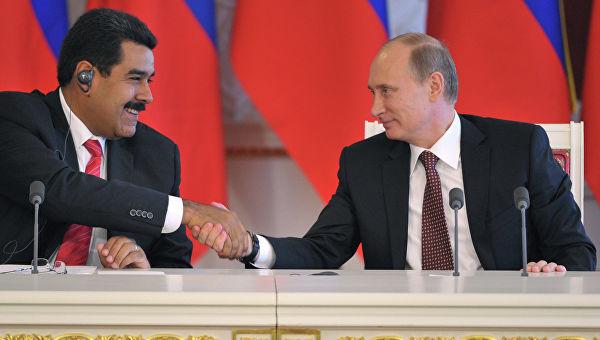 Путин: Зашто бисмо ми контролисали председника Мадура? Он сам контролише све